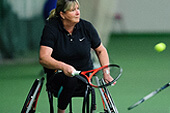Disability tennis programme