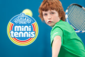 The Mini Tennis programme for 3-13 years olds