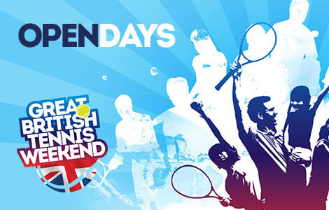 The Great British Tennis Weekend, find free family tennis courses