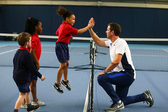 Tennis for kids coaching